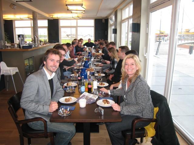 Einladung von Hans Jaich, Juniorchef des Familienunternehmens im Jaich in das Boardinghouse Bremerhaven