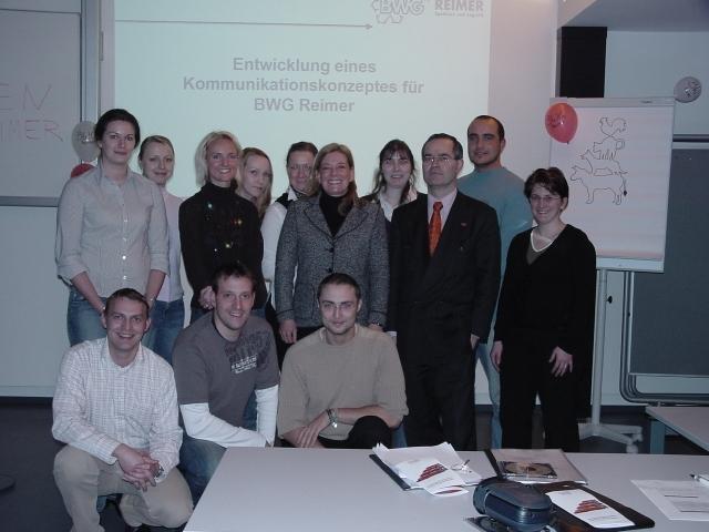 Entwicklung eines Kommunikationskonzeptes für das Speditions- und Logistikunternehmen BWG Reimer, BremenBWG Reimer