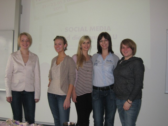 Projektgruppe CIM Messe Bremen Social Media