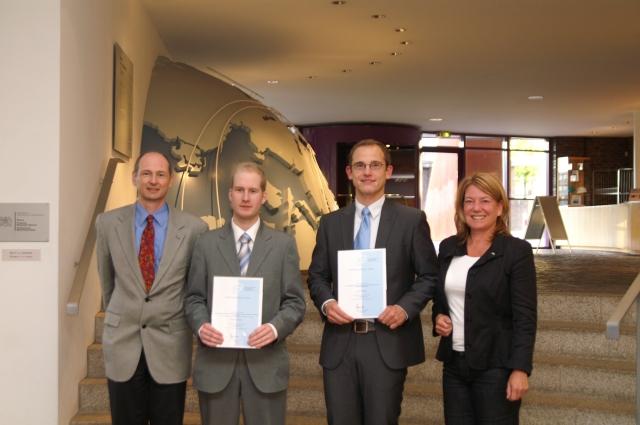 Förderpreis für die Diplomarbeit von Raoul Hampel