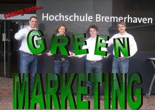 """Project """"Green Marketing - A new Trend in International Marketing"""", Labor Marketing und Multimedia (MuM) an der Hochschule Bremerhaven unter der Leitung von Prof. Dr. Heike Simmet"""