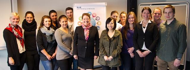 Team der MuM-Support Community - Labor Marketing und Multimedia (MuM) an der Hochschule Bremerhaven, Leitung: Prof. Dr. Heike Simmet