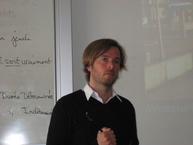 Vortrag von Hans Jaich im Labor Marketing und Multimedia (MuM)