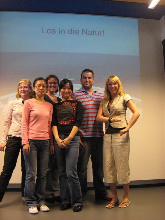 Projektgruppe: Los in die Natur