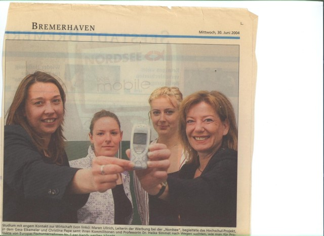 Projekt Mobile Marketing: Nordsee goes Mobile