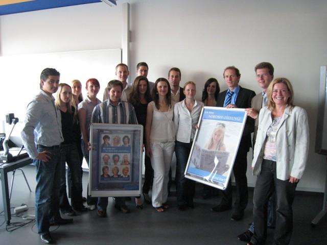 Projekt Nordsee Zeitung im Dialog