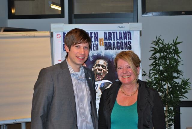Arne Dirks  und Heike Simmet