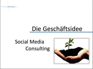 Projekt Social Media Consulting