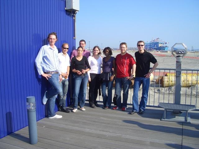 DAV-Studierende zu Gast beim CT4 in Bremerhaven