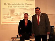 Prof. Dr. Heike Simmet und Dr. Ernst J. Baumann an der DAV Bremen